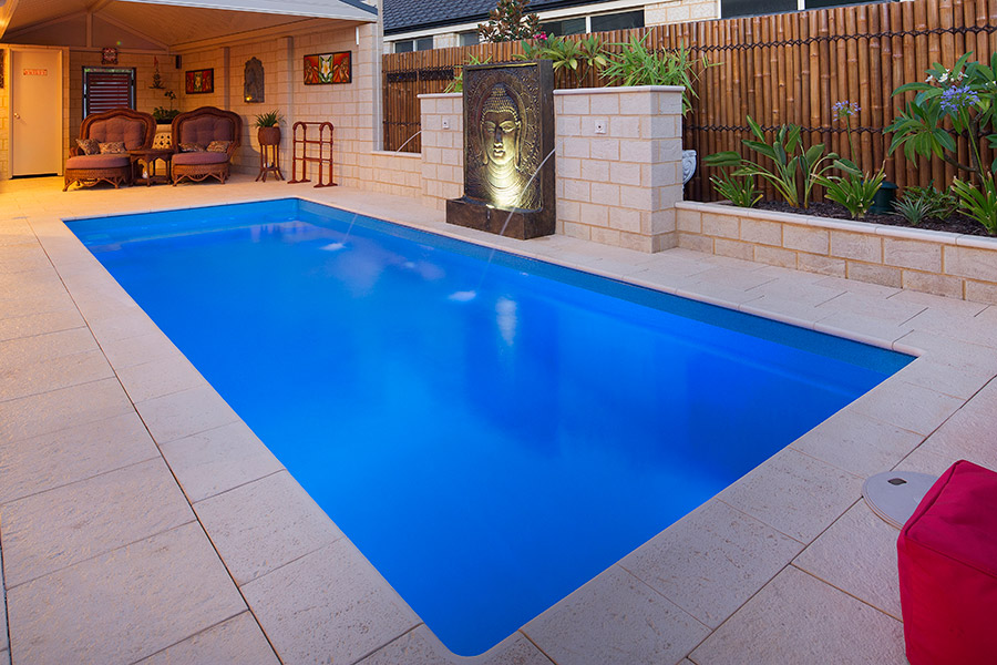 Harmony fibreglass swimming pools 7m x evolution Fibreglass pools vs concrete pools