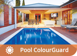 Pool ColourGuard will ensure your pool colour won't fade, find out more.